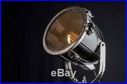 1 von 2 Loft Tripod Steh Stativ Lampe Scheinwerfer Industrie Strahler Spot Holz