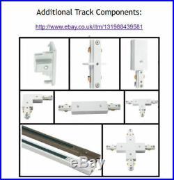 1m 5m 2 10 Spot Single Circuit Track Lighting LED Bulb Light Lamp Spotlight