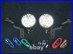 2 LED Black Spot Lamp/light Kit Mini Cooper & S, One, Petrol 2007 2008 2009 2010