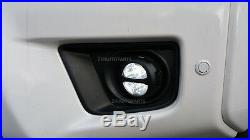 3 20W CREE LED SPOT LIGHT OFF ROAD TRUCKS SUV RZR ATV UTV FOG LAMP 4X4 (2pk)