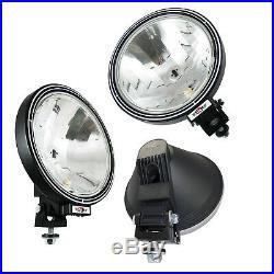 4x 12v/24v 9 Round Fog Spotlights Spot Lights Lamps Cab Top Bar Truck Lorry