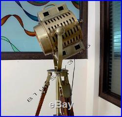 ARRI 40's Vintage Theater Stage Nautical Spotlight Art Deco Industrial Lamp