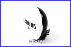 Cibie Oscar LED Primed Spotlight Set Pair Driving Lamp Headlight 180mm Valeo