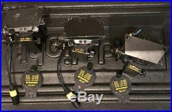 Dedolight K24-B Basic Kit 150W Spotlight 8 Leaf Barndoor Set DL150 Lamp Case