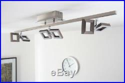Design Deckenleuchte LED Deckenspot Leuchte Deckenstrahler Glas Deckenlampe NEU