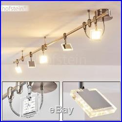 Design LED Decken Leuchte Dielen Flur Lampe Wohn Schlaf Ess Zimmer Spot drehbar
