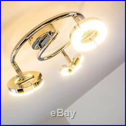 Design LED Deckenleuchte Deckenstrahler Flur Deckenlampe Deckenspot kippbar 3er
