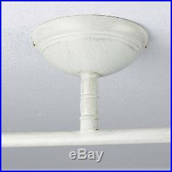 Elegante Deckenleuchte Im Shabby Chic Landhausstil 2fl Strahler Spot Deckenlampe