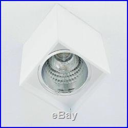 Eleganter Aufbau Spotstrahler Weiß inkl. Heller 12W LED Deckenspot Esstisch NEU