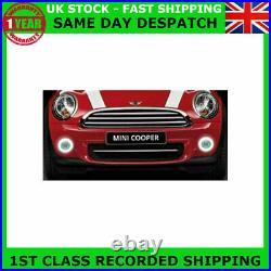 Fit Bmw Mini R61 Cooper Jcw 12-14 Halo Led Drl Daytime Running Lights Fog Kit