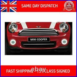 Fits Bmw Mini R60 Cooper One 10-14 Halo Led Drl Daytime Running Lights Fog Kit