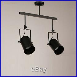 Flush Mount Ceiling Lights LED Spot Lights Hotel Lamp Black Chandelier Lighting