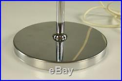 Gelenkarm Tisch Lampe Chrom Strahler Spot Lese Leuchte Vintage Chrome 70er