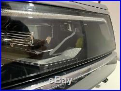 Genuine Vw Tiguan R Line Full Led Xenon Drivers Side Headlight 2017-2019