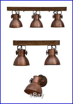 Hängelampe Deckenlampe Deckenspot Deckenstrahler Spot Lampe Vintage Antik Kupfer