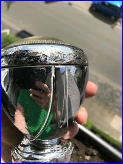 Hella vintage search light lamp mirror spot light vw split oval bug porsche 356