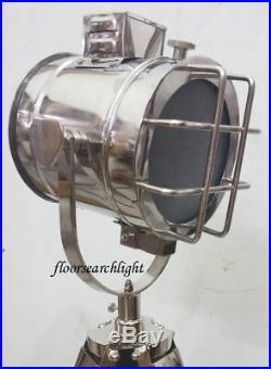 Home Decor Nautical Searchlight Spot Light Studio Tripod Floor Halloween Lamp