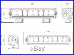 LAZER Lamps TRIPLE-R 1000 LED SPOT LIGHT BAR BLACK 9-32V 8200 Lm