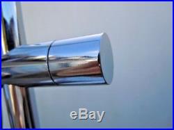Lampe spot mobile métal chromé vers 1970 style Alain Richard