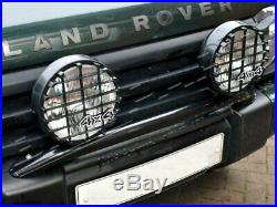 Land Rover Discovery 2 Front Bumper Spot Lamp Mounting Bar Including Lights