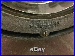 Large vintage Maxlume spotlight wall / uplight pendant