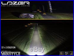 Lazer Lamps St4 Evoultion Led Spot Light Pair Grille Kit For Vw T6 Transporter