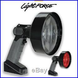 Lightforce Dual Colour Handheld Led Rabbit Fox Lamp Spot Light Lamp Enforcer 140
