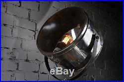 Loft Tripod Stativ Lampe Scheinwerfer Industrie Vintage Strahler Metal XL Spot