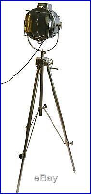 Marine Floor Light Nautical Spot Studio Tripod Floor Lamp Spot Search Light