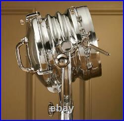 Nautical Royal Master Search Light Floor Lamp Restoration Hardware replica