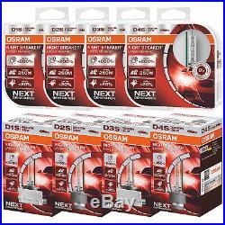 OSRAM Xenarc Night Breaker Laser Xenon Car Headlight Bulbs D1S D2S D3S D4S