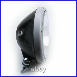 One HELLA Rallye 3003 Spot Lamp with Silver Design Ring and LED Side Light