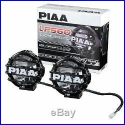 PIAA LED Road Car Drive Lamp Light Kit LP550 131mm Diameter DK555BXG