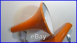 Paire de spots appliques lampes Vintage Design Wall lamps 70'S