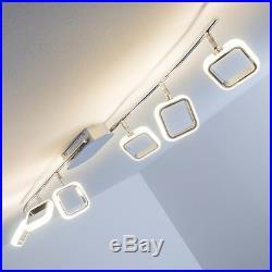 Plafonnier LED Spot Design Lustre Chrome Lampe à suspension 6 branches 138746
