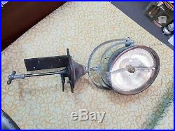 Pre Ww2 Antique Vintage Brass Ship Spotlight Search Light