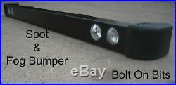 RDX Fog & Spot light/lamps Bumper Land Rover Defender 90/110 200 300Tdi/Td5 Tdci
