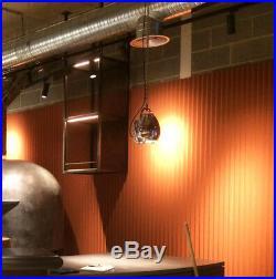 Restored Rewired Retro Vintage Strand Patt 123 Ceiling Theatre Lamp Spot Light