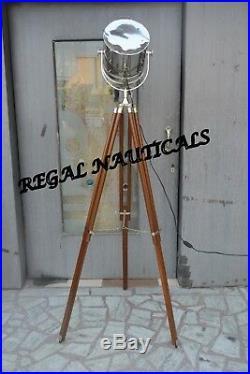 Retro Design Vintage style searchlight Spotlight Deginer Tripod Floor lamp
