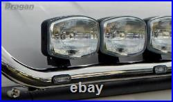 Roof Spot Light Bar + LEDs For Mercedes Atego Front Lamps Truck Stainless Steel