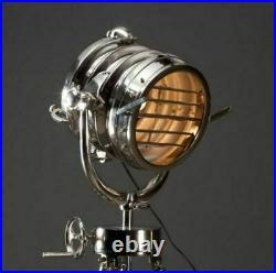 Royal Master Search Light Floor Lamp Restoration Hardware Copy Replica Chrome