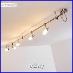 Schienen Decken Lampe Wohn Schlaf Zimmer Spot verstellbar Flur Küchen Strahler