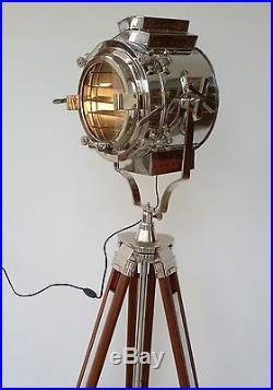 Spotlight home decor floor lamp nautical tripod christmas lighting searchlight