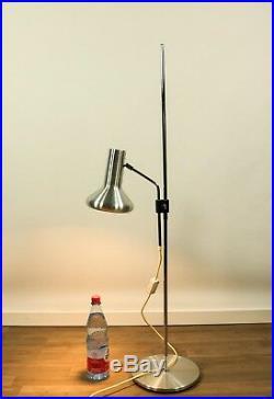 Steh. Boden Lampe Strahler Spot Alu Leuchte Vintage 70er Dänemark Denmark 70s