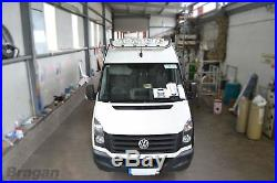 To Fit 06 14 Iveco Daily Top Front High Roof Light Lamp Bar + 4x Oval Spots