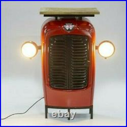 Tractor Bookshelf Spot Lights Vintage Retro Lamp Industrial Up-Cycled Table Desk