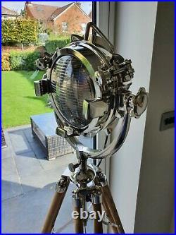 Tripod Spotlight Floor Lamp