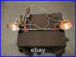 Vintage Harley KAYBEE Spot Lamps Spotlight Knucklehead Panhead UL VL Indian RARE