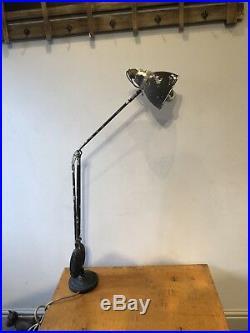 Vintage Industrial Counter Balance Desk Spot Lamp Light 1940s Anglepoise
