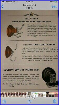 Vintage K Star K-Star Coat Hanger 1930s 1940s Chevy GM Accessory Bomb Lowrider $